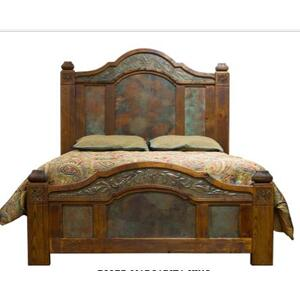 King Margarita Copper Bed