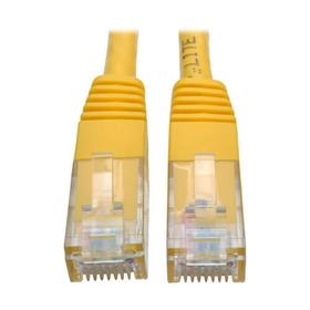 Cat6 Gigabit Molded (UTP) Ethernet Cable (RJ45 M/M), Yellow, 5 ft.