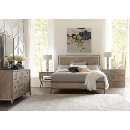 Sophie - King/california King Panel Footboard - Natural Finish
