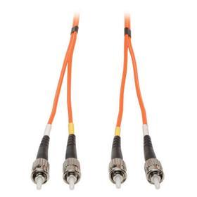 Duplex Multimode 62.5/125 Fiber Patch Cable (ST/ST), 15M (50 ft.)