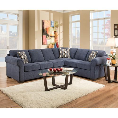 Simmons Upholstery - Raf Bump Sofa