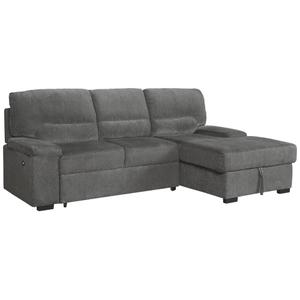 Yantis 2-piece Sleeper Sectional With Storage