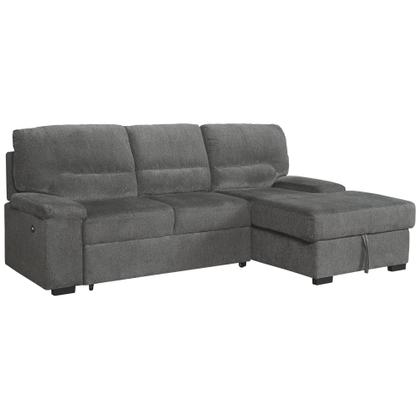 See Details - Yantis 2-piece Sleeper Sectional With Storage