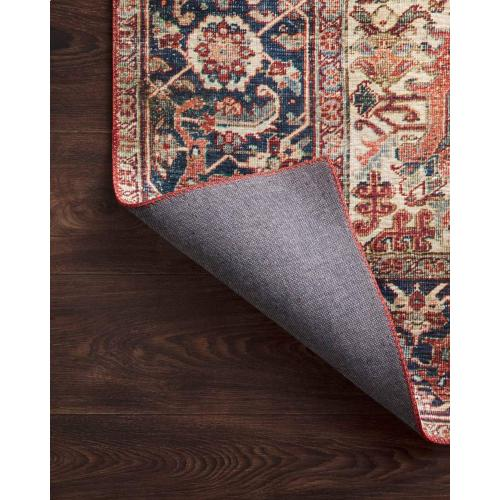 LAY-08 Red / Navy Rug