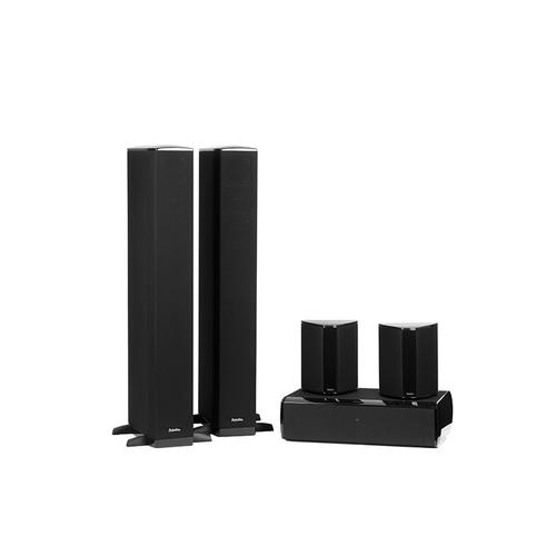 Definitive Technology - Five piece 5.1 channel system with built-in powered subwoofers