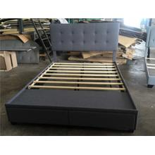 Antoine Qn Platform Bed W/usb Grey