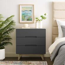 Origin Three-Drawer Chest or Stand in Natural Gray