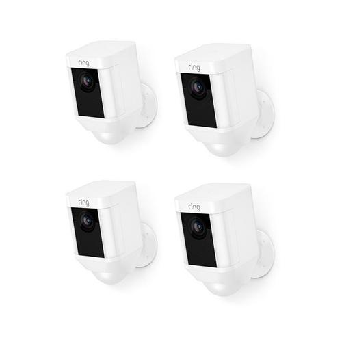 4-Pack Spotlight Cam Battery - White