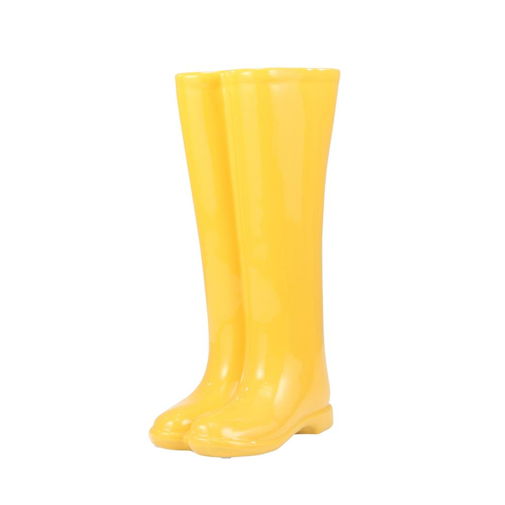 See Details - Boots Umbrella Stand, Yellow