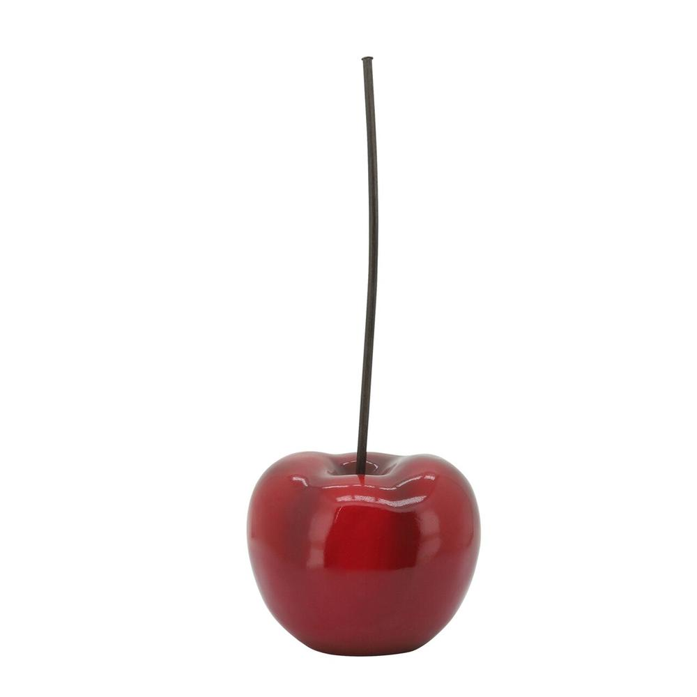 Red Cherry Sculpture, 15.25""