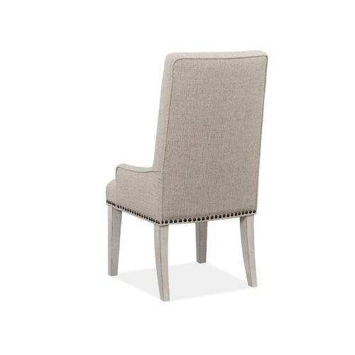 Upholstered Host Side Chair (2/ctn)