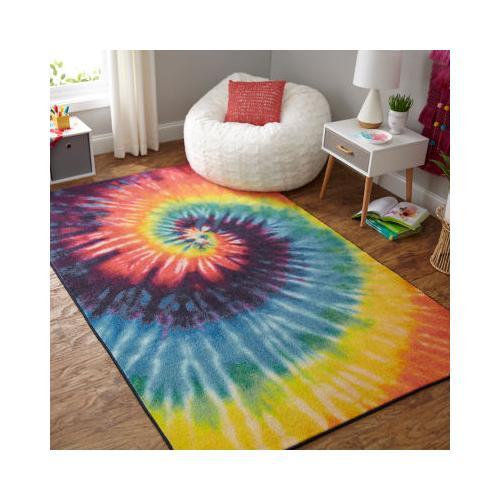 Mohawk - Tie Dye Swirl, Rainbow- Rectangle