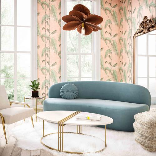 Product Image - Cannellini Bluestone Velvet Sofa