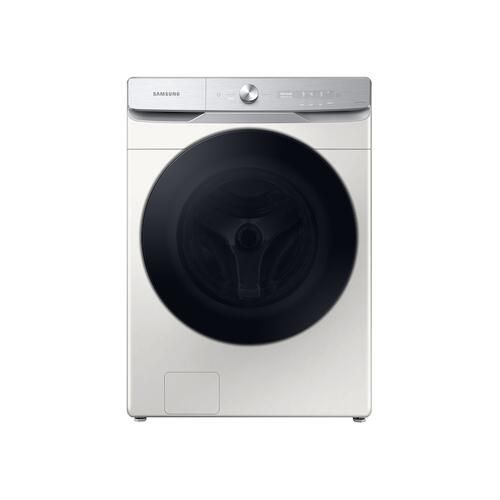5.0 cu. ft. Extra-Large Capacity Smart Dial Front Load Washer with CleanGuard™ in Ivory