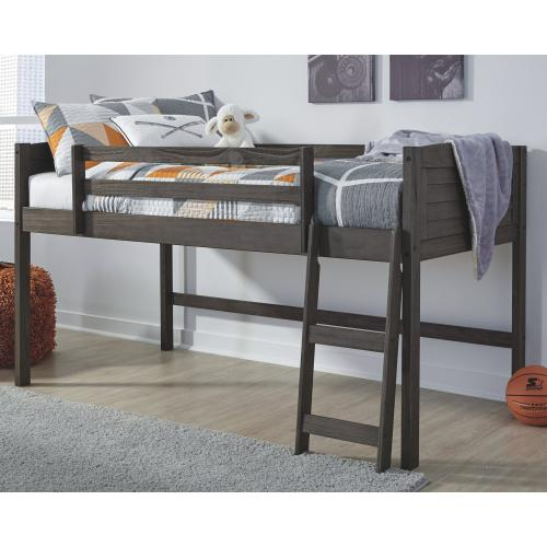 Caitbrook Twin Loft Bed Frame