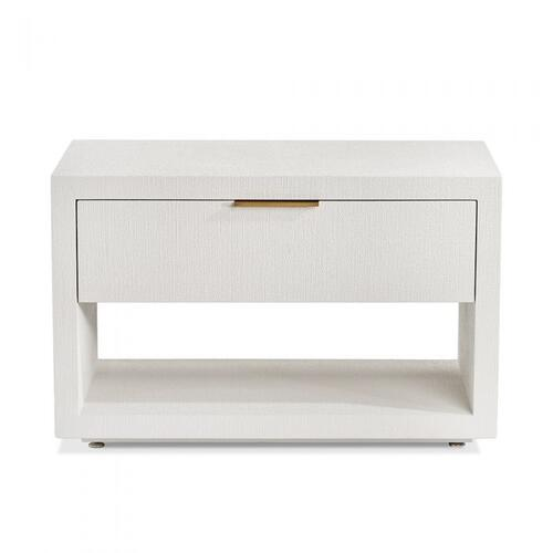 Montaigne Bedside Chest - White