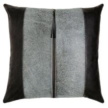 Tanner Pillow, BLACK, 22X22