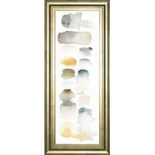 """Watercolor Swatch Panel Neutral I"" By Elyse De Neige Framed Print Wall Art"