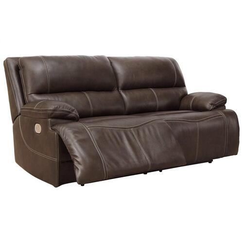 2 Seat PWR REC Sofa ADJ HDREST Walnut