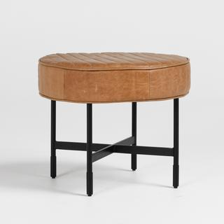 See Details - Lionel 22\u0022 Ottoman Chestnut