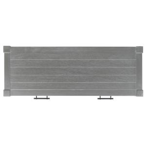 Safavieh - Filbert 2 Drawer Console Table - White Washed Grey