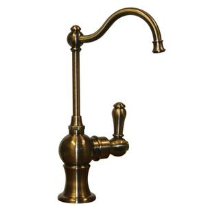Point of Use instant hot water faucet with a traditional spout and a self-closing handle. Product Image