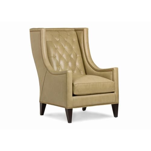 Luxe Button Tufted Chair