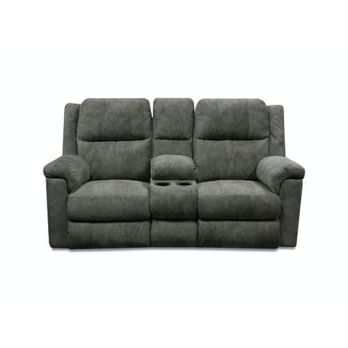 V9Z085 Double Reclining Loveseat Console
