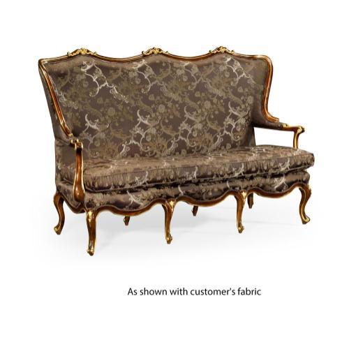 Classical Bench for Gilt Carved Detailing (COM)