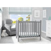 Sprout Mini Crib with Mattress - Grey (026)