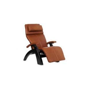 Perfect Chair ® PC-600 Omni-Motion Silhouette - Cognac Premium Leather - Matte Black
