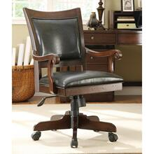View Product - Desk Chair - Warm Tobacco Finish
