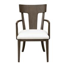 See Details - Boulevard Wood Back Arm Chair 2pc