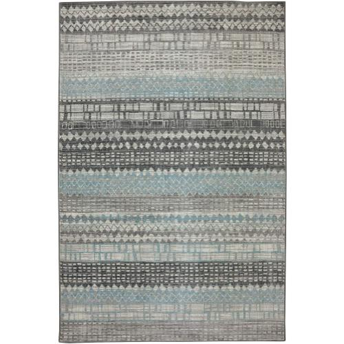 "Euphoria Eddleston Ash Grey 2' 4""x7' 10"" Runner"