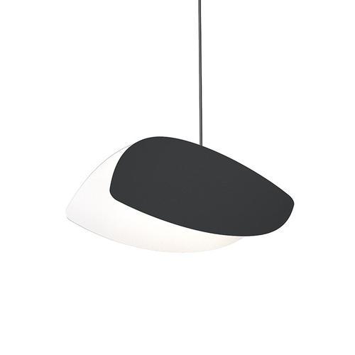 Sonneman - A Way of Light - Papillons LED Pendant [Size=Standard Single Pendant, Color/Finish=Satin Black Shade]