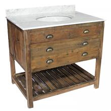 Reclaimed Pine 1-Drawer Vanity