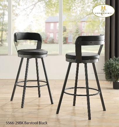 """24"""" Counter-height Stool Grey"""