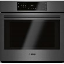 See Details - 800 Series Single Wall Oven 30'' Black stainless steel HBL8443UC