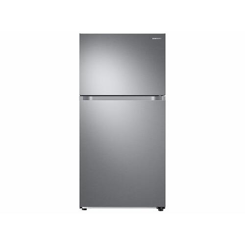 21 cu. ft. Top Freezer Refrigerator with FlexZone™ in Stainless Steel