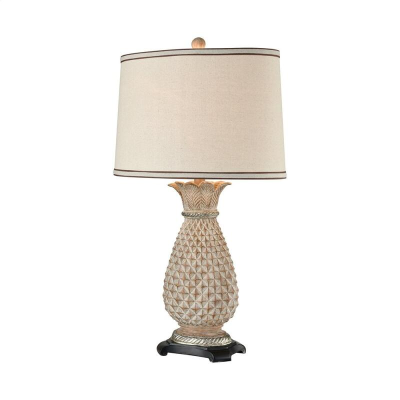 Buxton Table Lamp In Parisian Stone