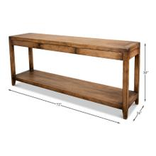 Anton Console With Three Drawers