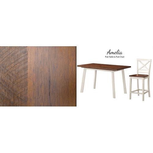 "Gallery - Pub Chair - 20""L X 17""D X 40""H"