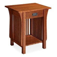 See Details - Prairie Mission Nightstand Table with Drawer