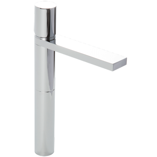 Otella Vessel Lav Faucet High Solid Brass Construction Made in Italy Flow Rate: 1.2GPM