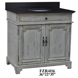 "Isabelle 2 Door 36"" Vanity Sink Product Image"