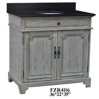 "See Details - Isabelle 2 Door 36"" Vanity Sink"