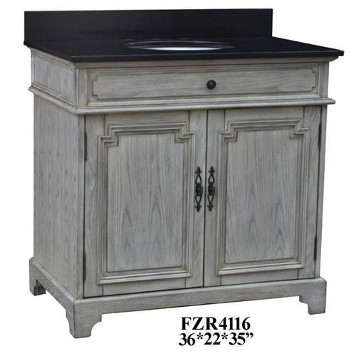 """Crestview Collections - Isabelle 2 Door 36"""" Vanity Sink"""