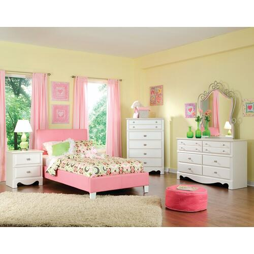 Fantasia Full Bed, Pink