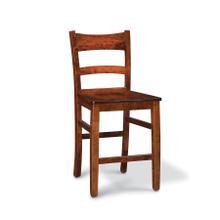"Shenandoah Stationary Barstool, Shenandoah Stationary Barstool, 24""h, Fabric Seat"