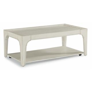 See Details - Harmony Rectangular Coffee Table with Casters